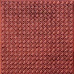 WC35  Faux Tin Backsplash Roll - Antique Copper