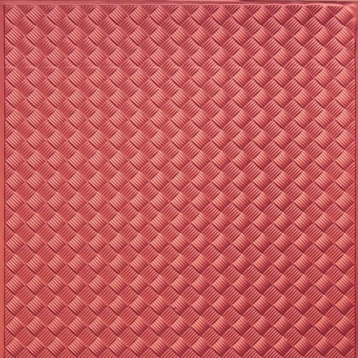 WC35  Faux Tin Backsplash Roll - Copper