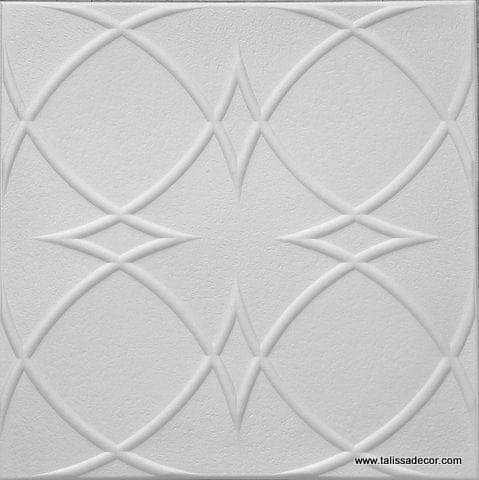 RM82 Polystyrene ceiling tile