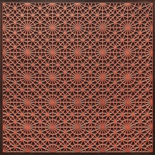 Ft3 Antique Copper Faux Tin Glue Up Ceiling Tile Edge Filler