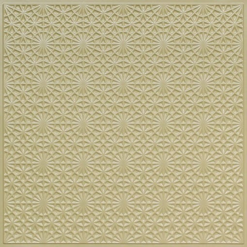 FT3 Cream Pearl Faux Tin Glue up Ceiling Tile / Edge Filler