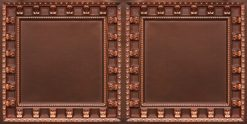 8236 Antique Copper Faux Tin Ceiling Tile