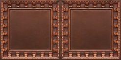 8236 Antique Copper Faux Tin Ceiling Tile