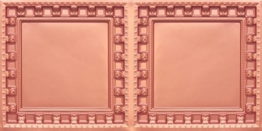 8236 Copper Faux Tin Ceiling Tile