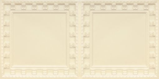 8236 Cream Pearl Faux Tin Ceiling Tile