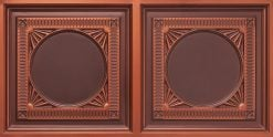 8266 Faux Tin Ceiling Tile - Antique Copper