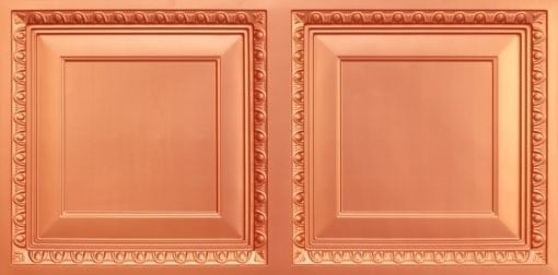 8267 Faux Tin Ceiling Tile - Copper