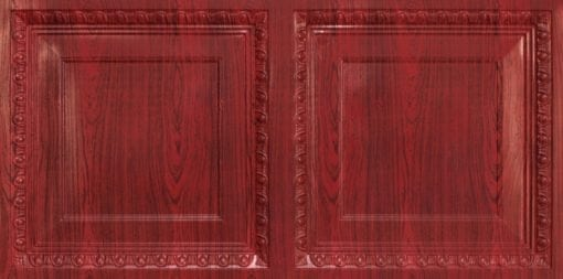 8267 Faux Tin Ceiling Tile - Rosewood
