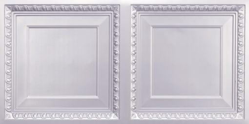 8267 Faux Tin Ceiling Tile - Silver