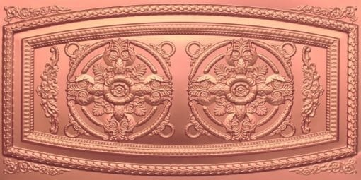 8272 Faux Tin Ceiling Tile - Copper