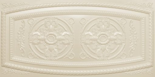 8272 Faux Tin Ceiling Tile - Cream Pearl