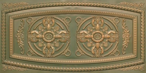 8272 Faux Tin Ceiling Tile - Patina Copper