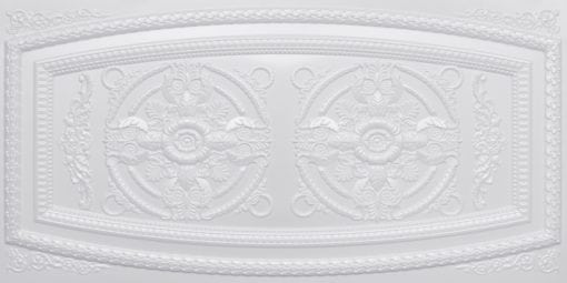 8272 Faux Tin Ceiling Tile - White Pearl