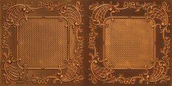 8269 Faux Tin Ceiling Tile - Antique Gold