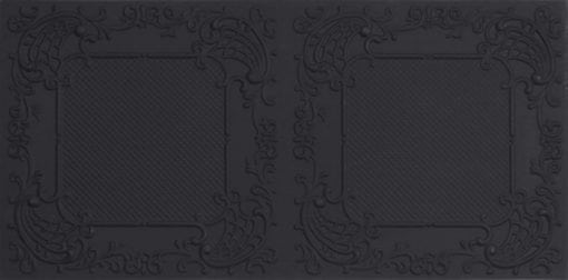8269 Faux Tin Ceiling Tile - Black Matte