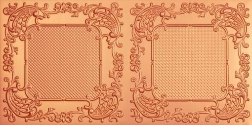 8269 Faux Tin Ceiling Tile - Copper