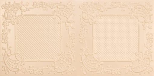 8269 Faux Tin Ceiling Tile - Cream Pearl