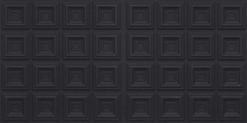 8270 Faux Tin Ceiling Tile - Black Matte