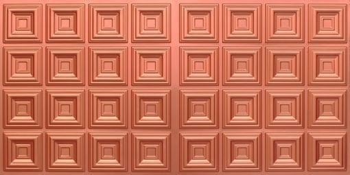 8270 Faux Tin Ceiling Tile - Copper