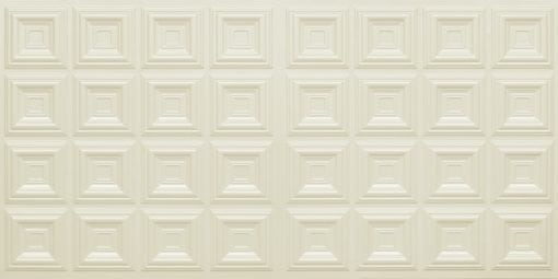 8270 Faux Tin Ceiling Tile - Cream Pearl