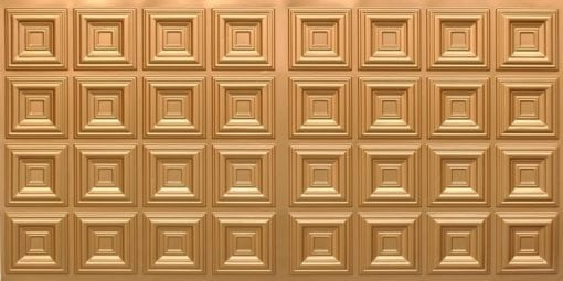 8270 Faux Tin Ceiling Tile - Gold
