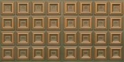 8270 Faux Tin Ceiling Tile - Patina Copper