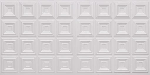 8270 Faux Tin Ceiling Tile - White Pearl