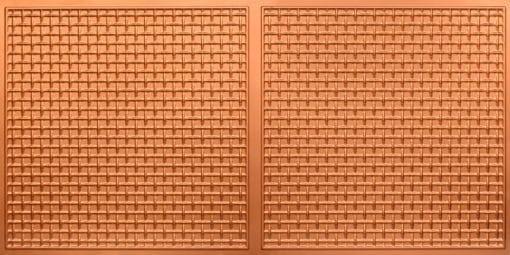 8271 Faux Tin Ceiling Tile - Copper