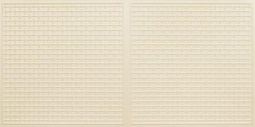 8271 Faux Tin Ceiling Tile - Cream Pearl