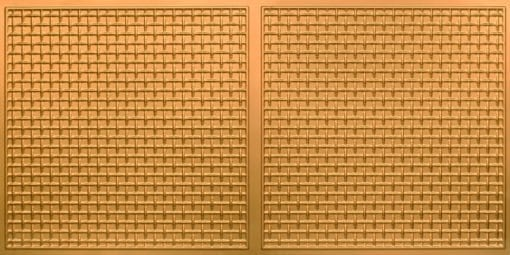 8271 Faux Tin Ceiling Tile - Gold