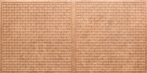 8271 Faux Tin Ceiling Tile - Venetian Brown