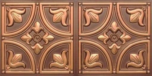 8273 Faux Tin Ceiling Tile - Antique Gold