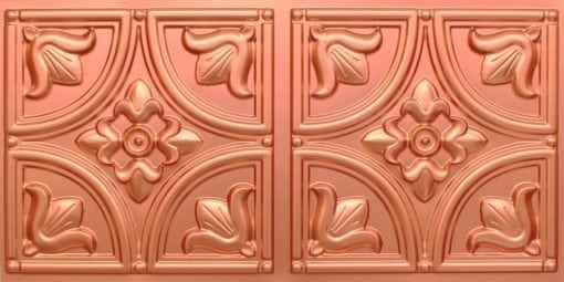 8273 Faux Tin Ceiling Tile - Copper