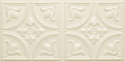 8273 Faux Tin Ceiling Tile - Cream Pearl