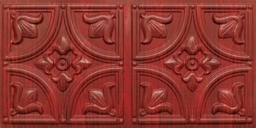 8273 Faux Tin Ceiling Tile - Rosewood