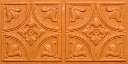 8273 Faux Tin Ceiling Tile - Teakwood