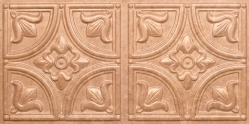 8273 Faux Tin Ceiling Tile - Venetian Brown