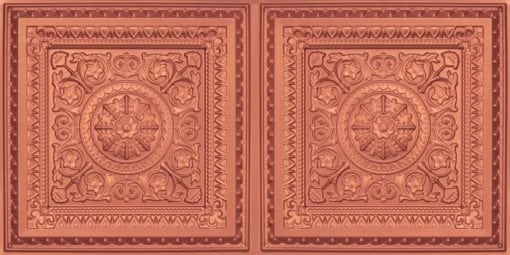 8223 Faux Tin Ceiling Tile - Copper