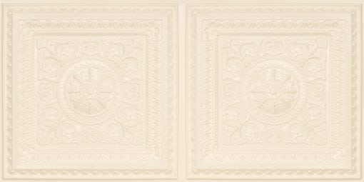8223 Faux Tin Ceiling Tile - Cream Pearl