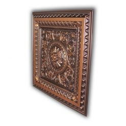 8223 Faux Tin Ceiling Tile - Antique Copper