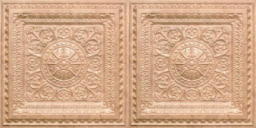 8223 Faux Tin Ceiling Tile - Venetian Brown