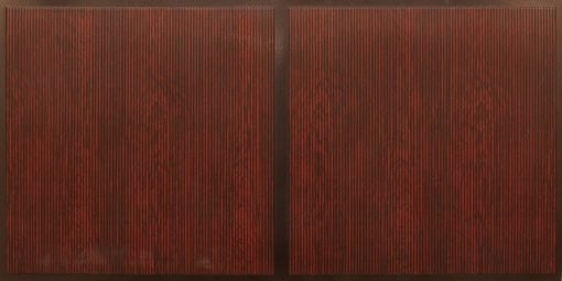 FT801 Faux Tin Ceiling Tile - Antique Rosewood