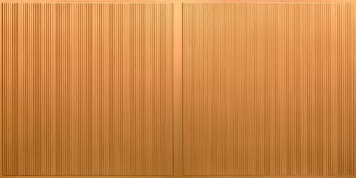 FT801 Faux Tin Ceiling Tile - Gold
