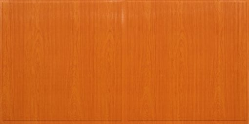FT801 Faux Tin Ceiling Tile - Teakwood