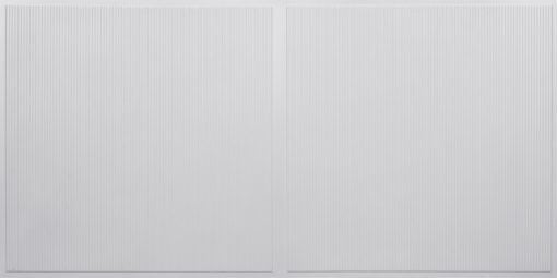 FT801 Faux Tin Ceiling Tile - White Pearl