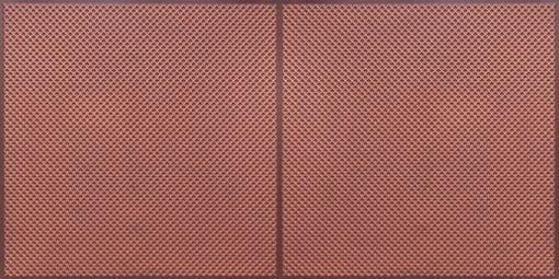 FT802 Faux Tin Ceiling Tile - Antique Copper