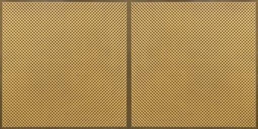 FT802 Faux Tin Ceiling Tile - Antique Gold