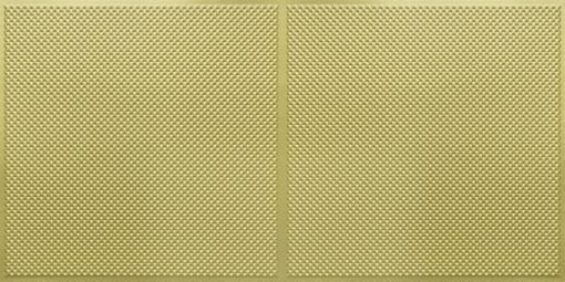 FT802 Faux Tin Ceiling Tile - Brass