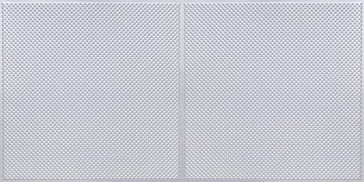 FT802 Faux Tin Ceiling Tile - Silver