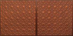 FT803 Faux Tin Ceiling Tile - Antique Copper